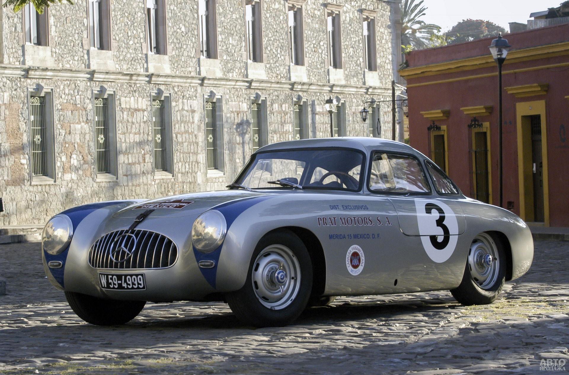 Mercedes-Benz_300SL побеждал в Ле-Мане, Mille Miglia и Carrera Panamericana