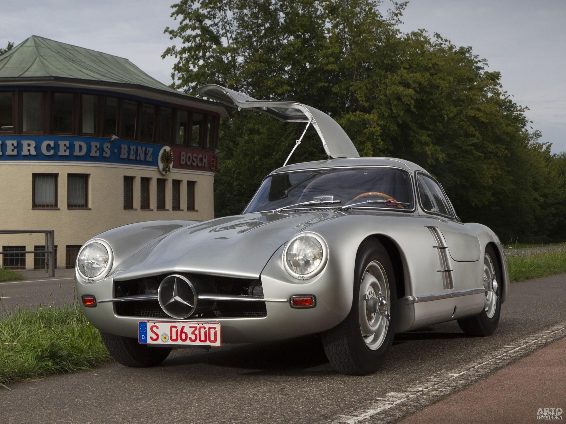 Прототип серийного Mercedes-Benz_300SL