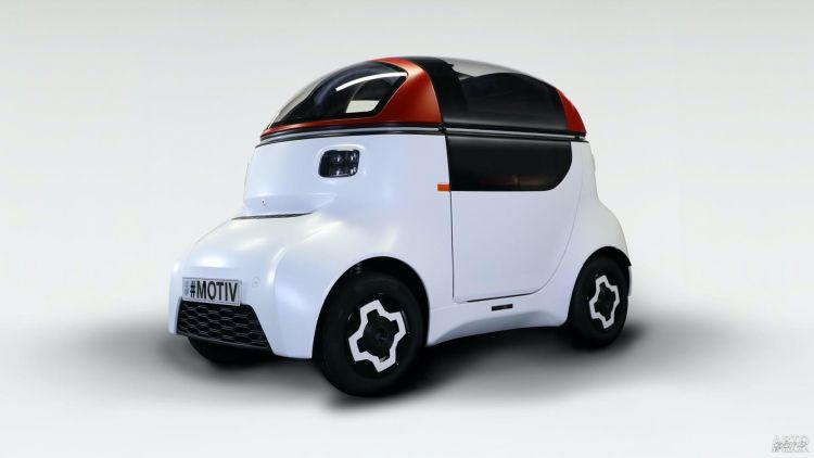 Известный британский конструктор показал городской электромобиль