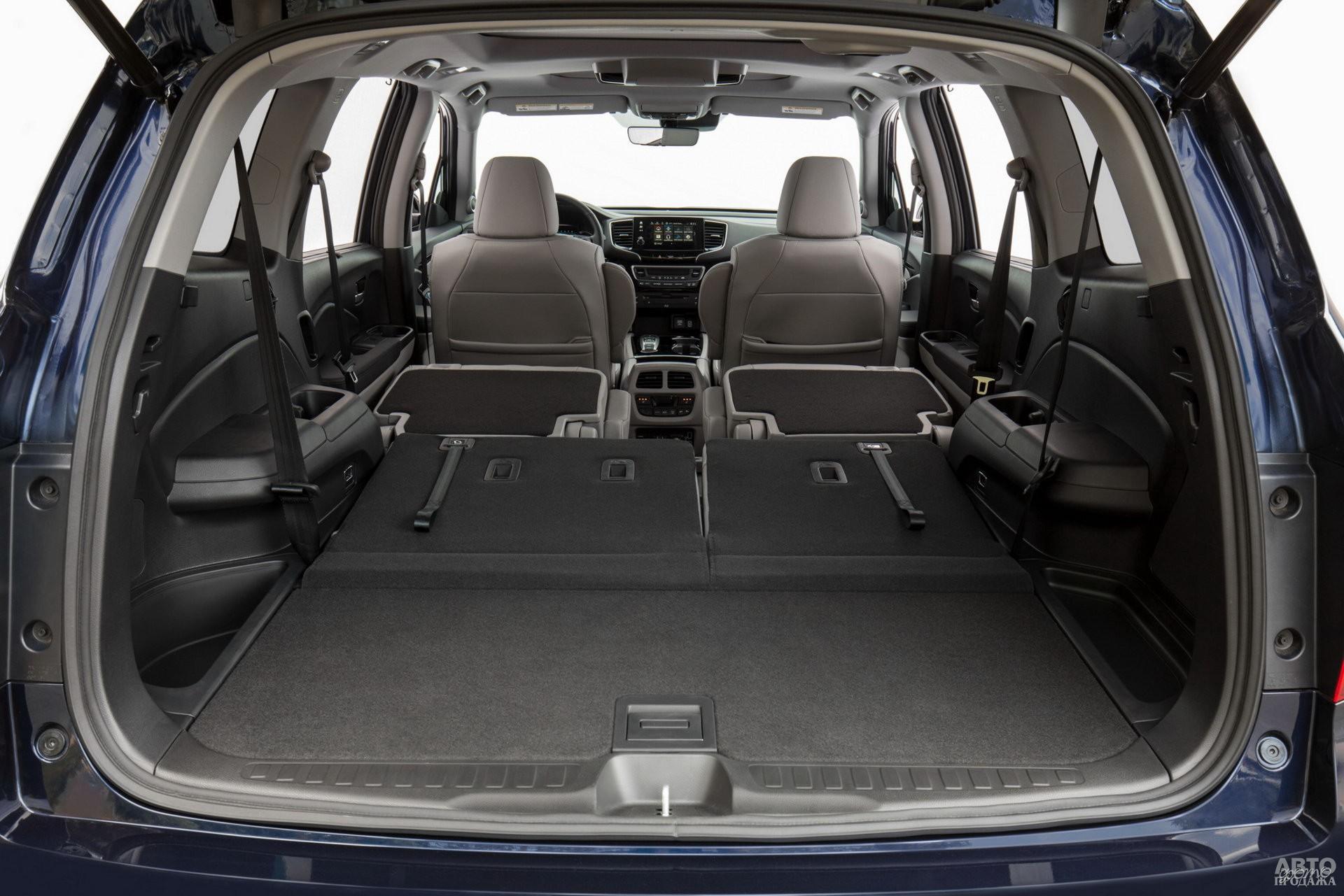 Объем багажника Honda – 305-1779 л