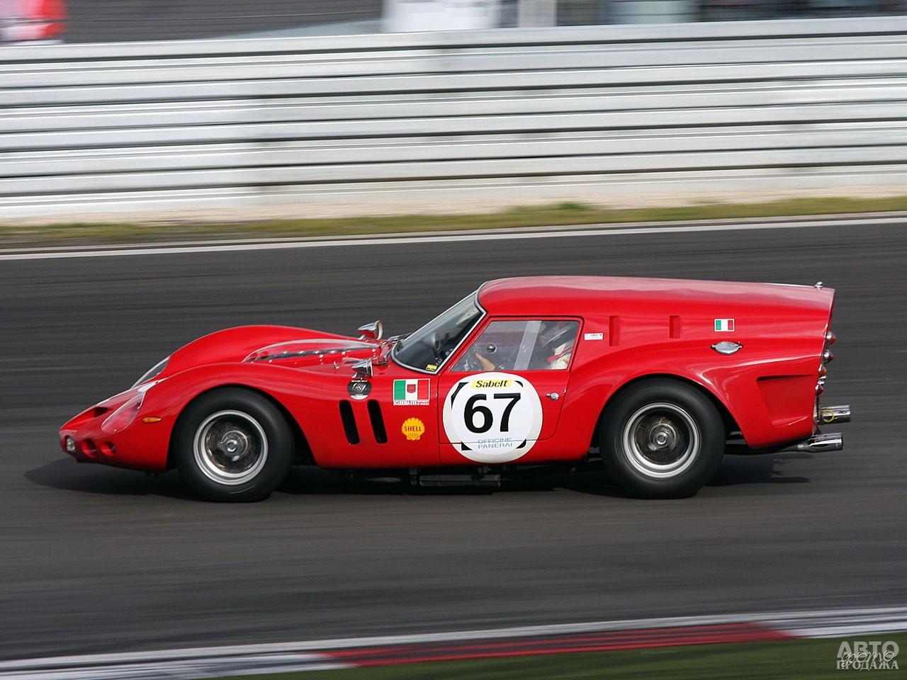 Необычный гоночный фургон Ferrari_250 GT Breadvan