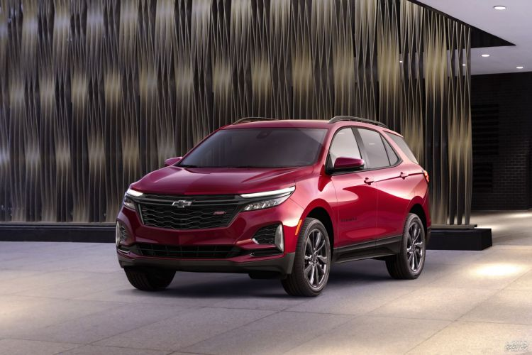 Chevrolet Equinox: модернизация