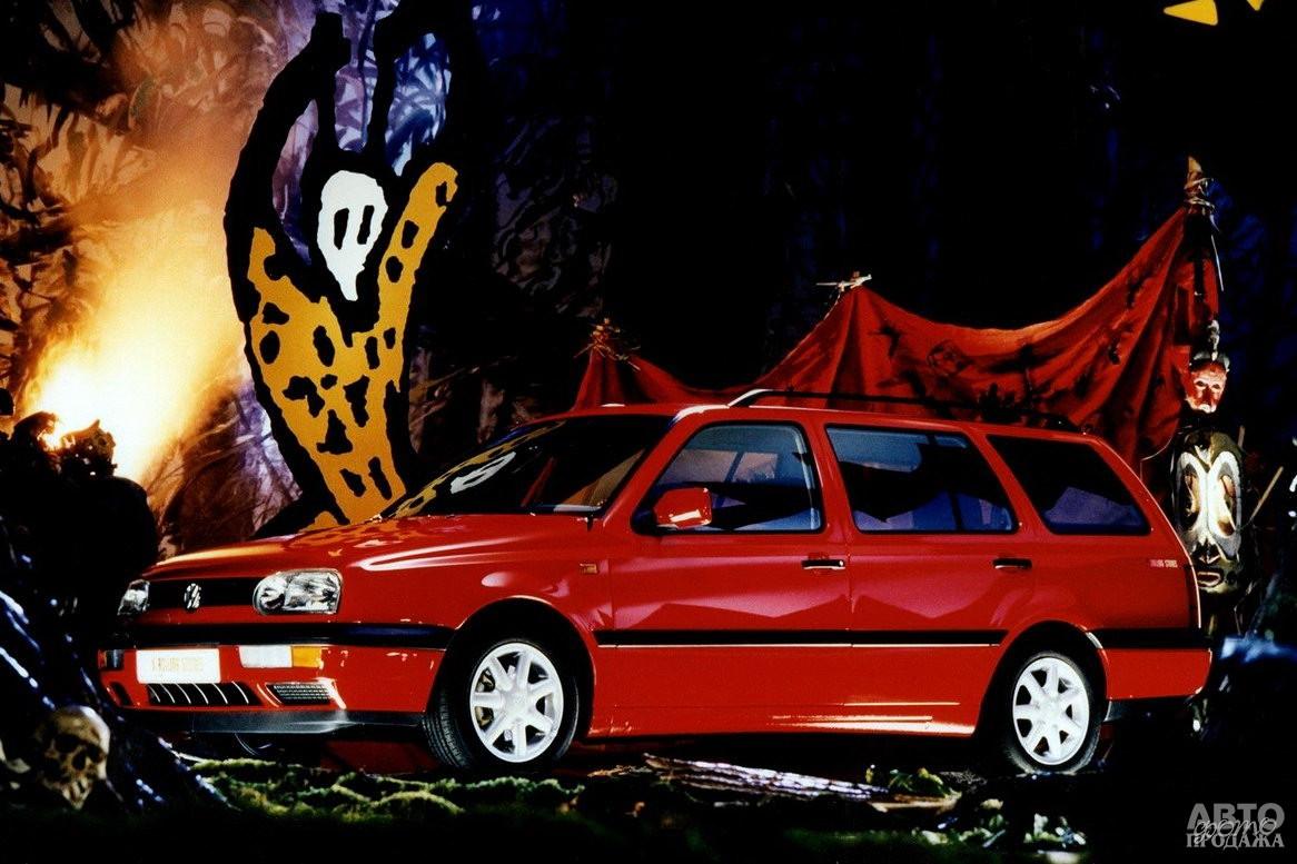 Универсал Volkswagen Golf Variant  в версии Rolling Stones