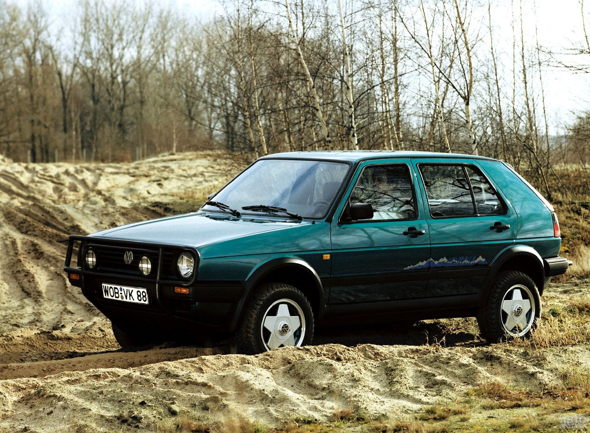 Volkswagen Golf Country 1989 года