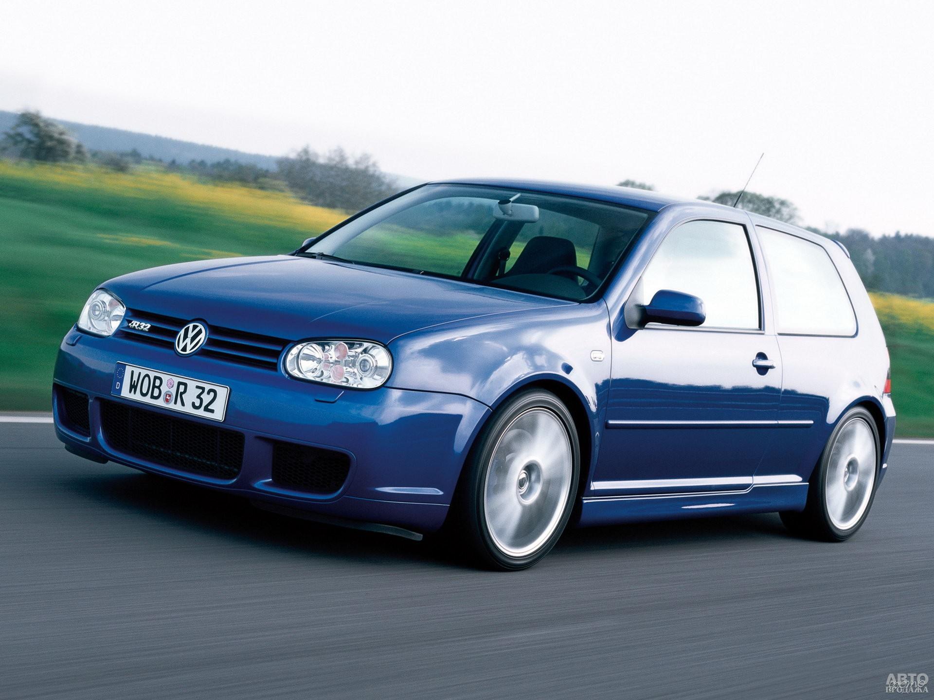 Volkswagen Golf R32 2002 года