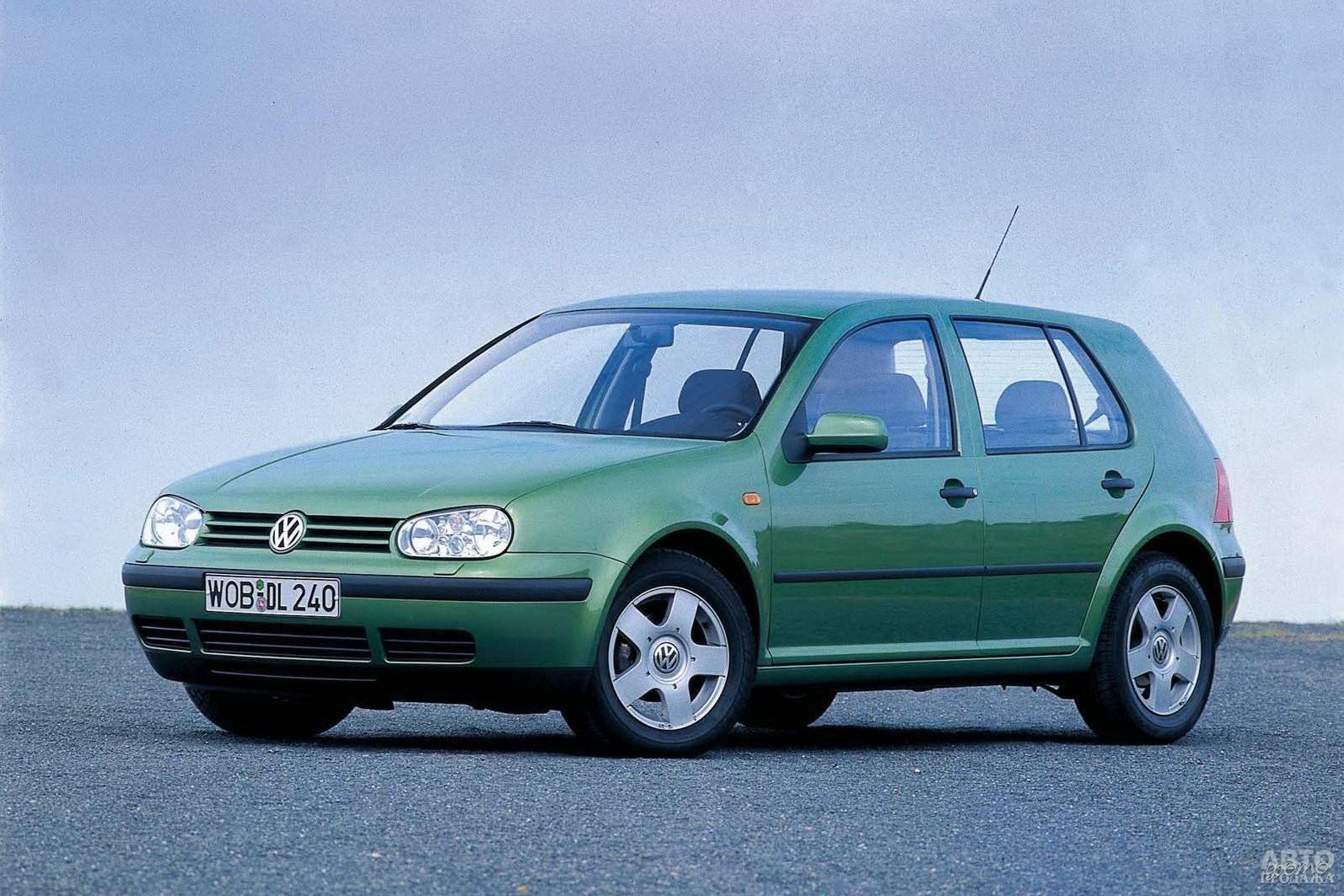 Volkswagen Golf четвертого поколения, 1997 год