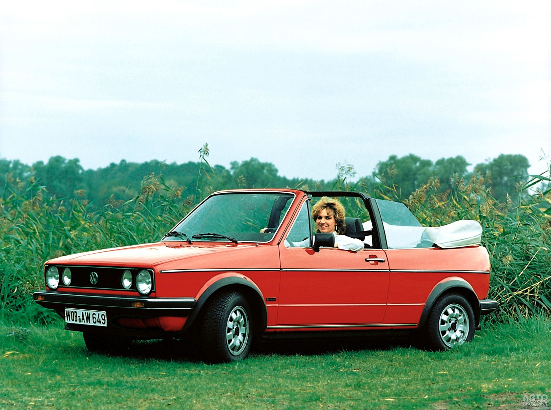 Volkswagen_Golf Cabrio 1979 года