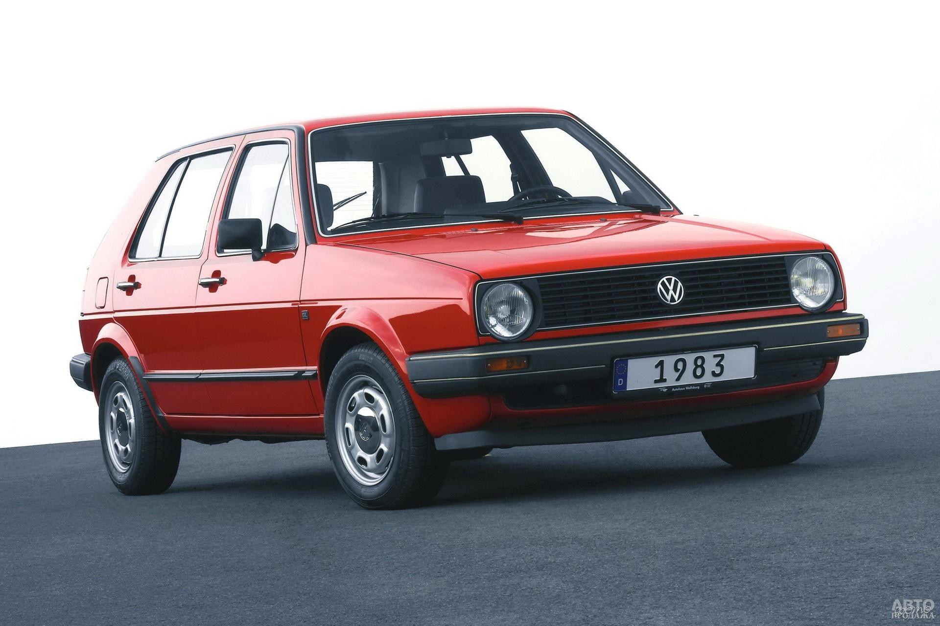 Второе поколение Volkswagen Golf, 1983 год