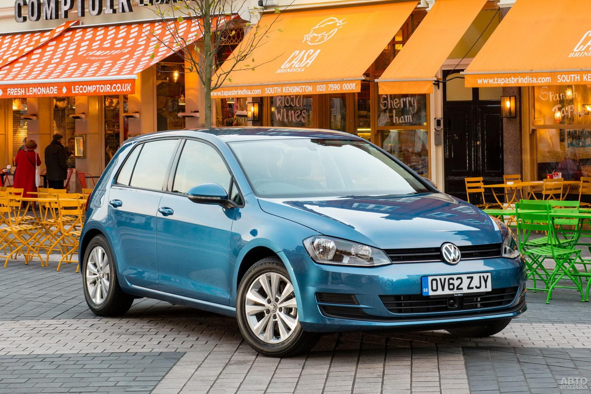 Седьмое поколение Volkswagen Golf, 2012 год
