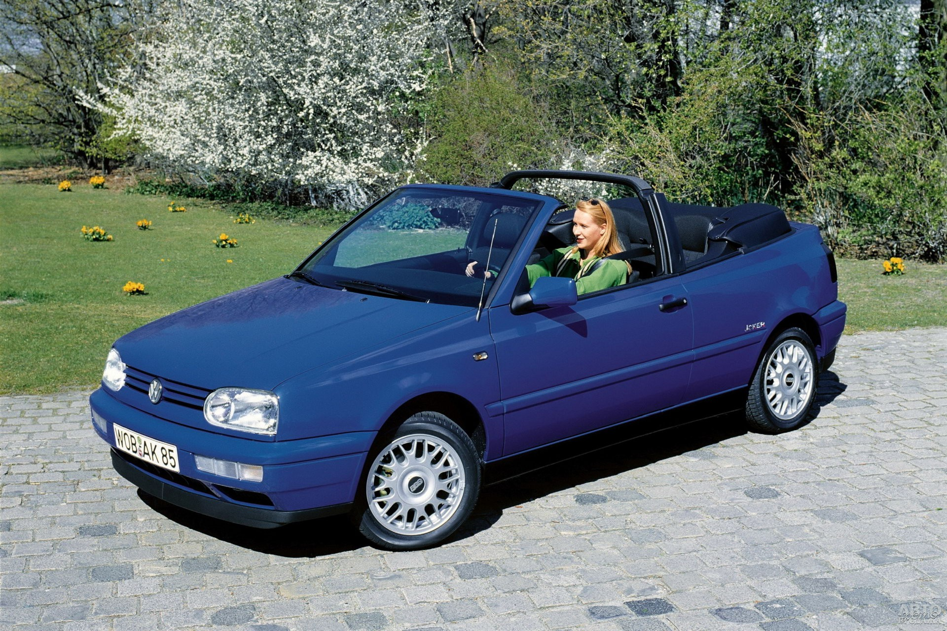 Volkswagen Golf Cabrio 1994 года