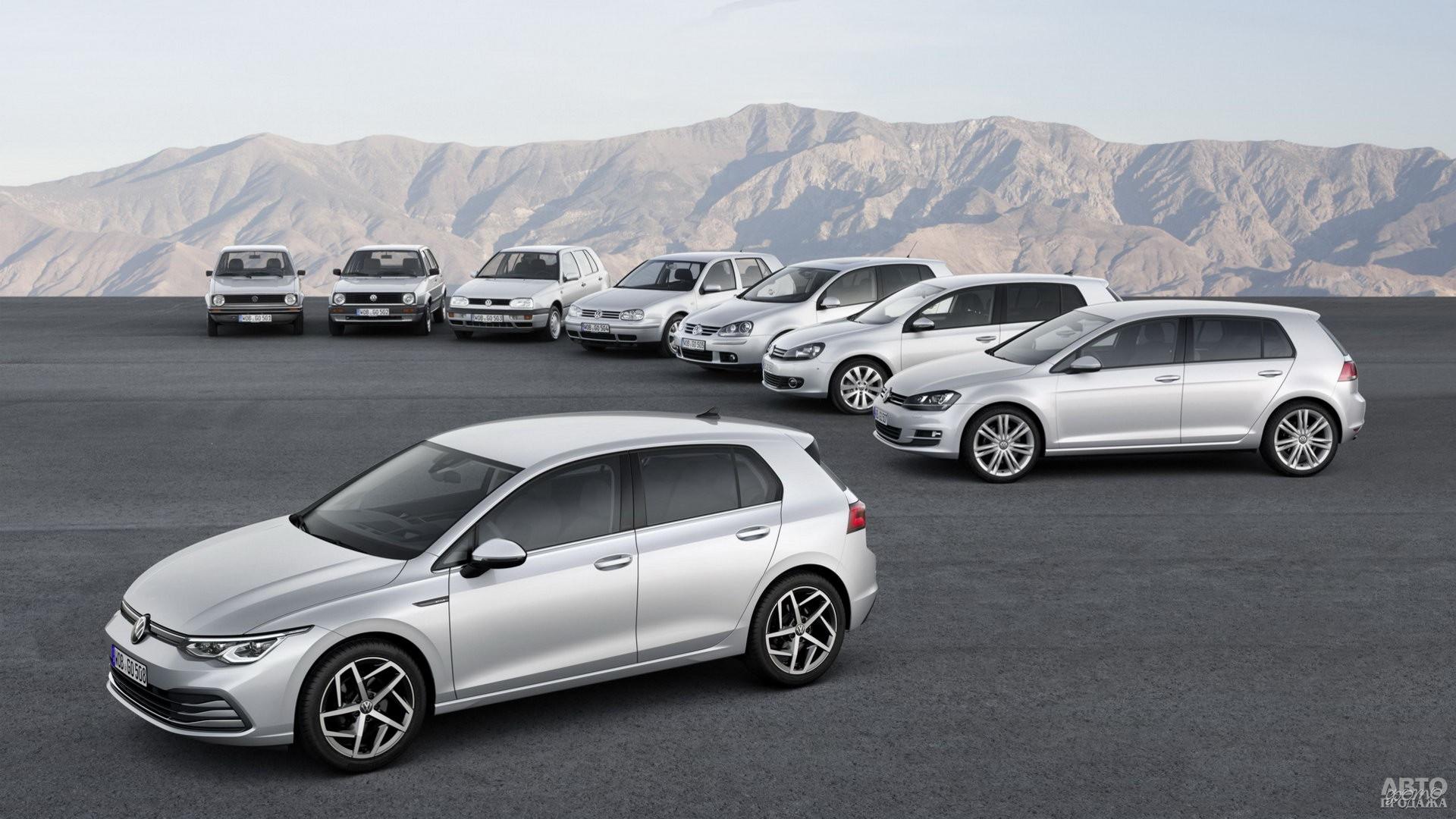 Выпущено свыше 35 миллионов Volkswagen Golf