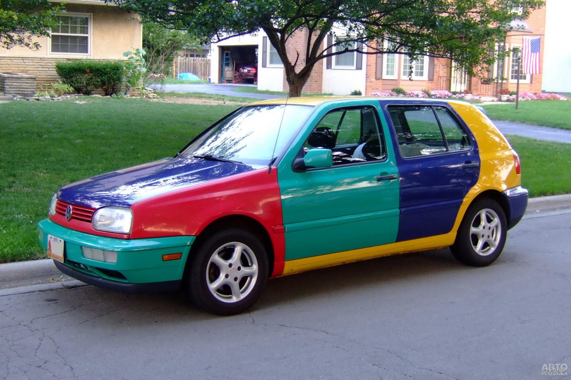 Volkswagen Golf Harlequin 1994 года