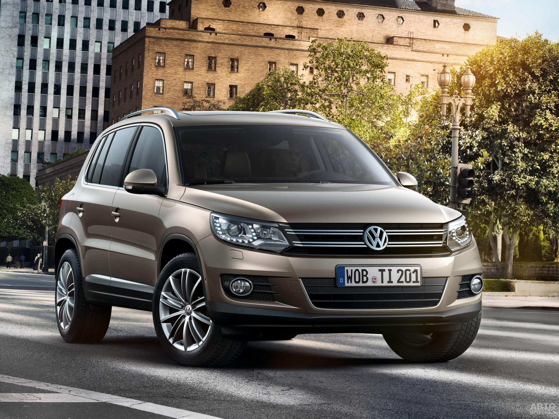 Volkswagen Tiguan является близким родственником Golf