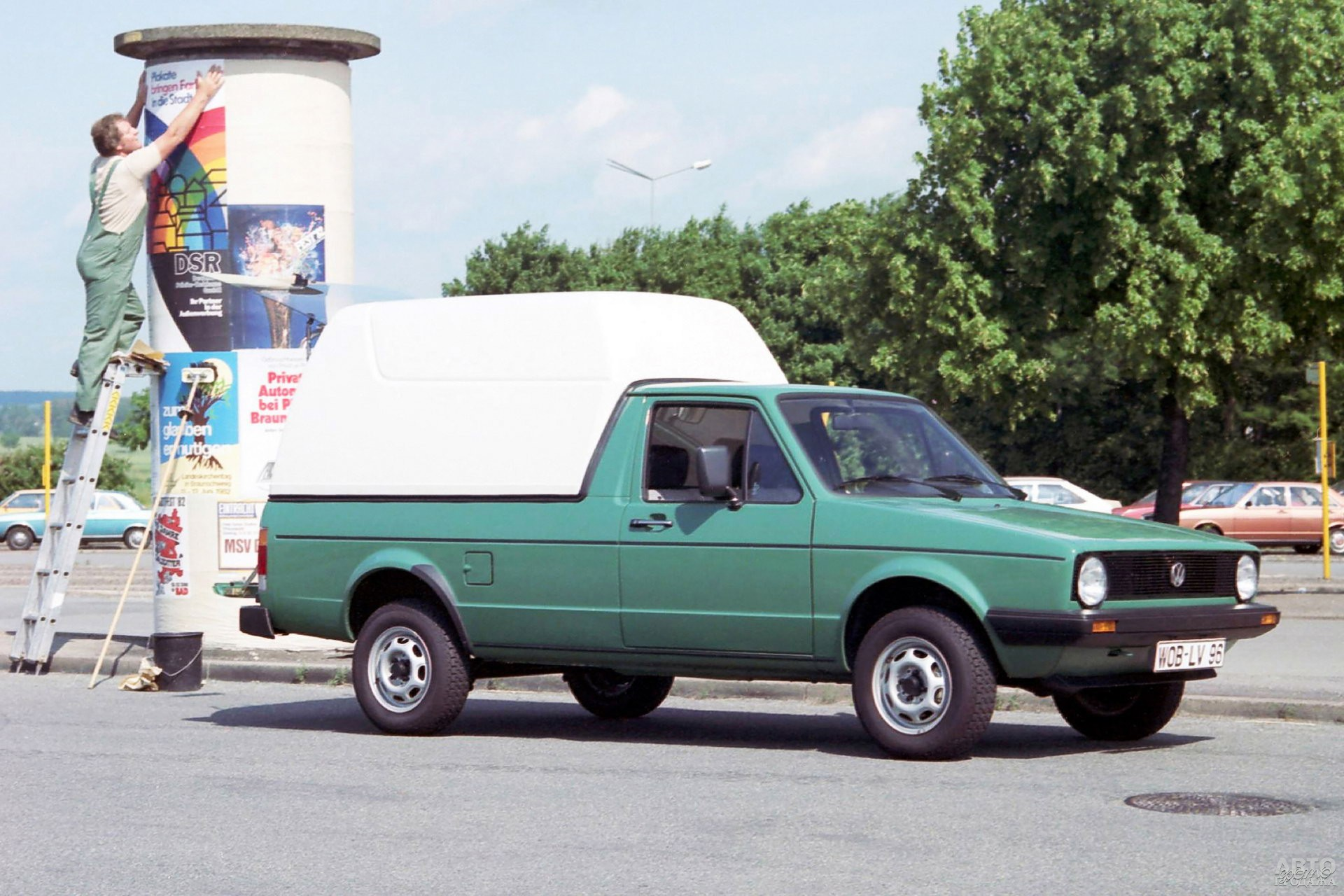 Volkswagen Caddy 1979 года