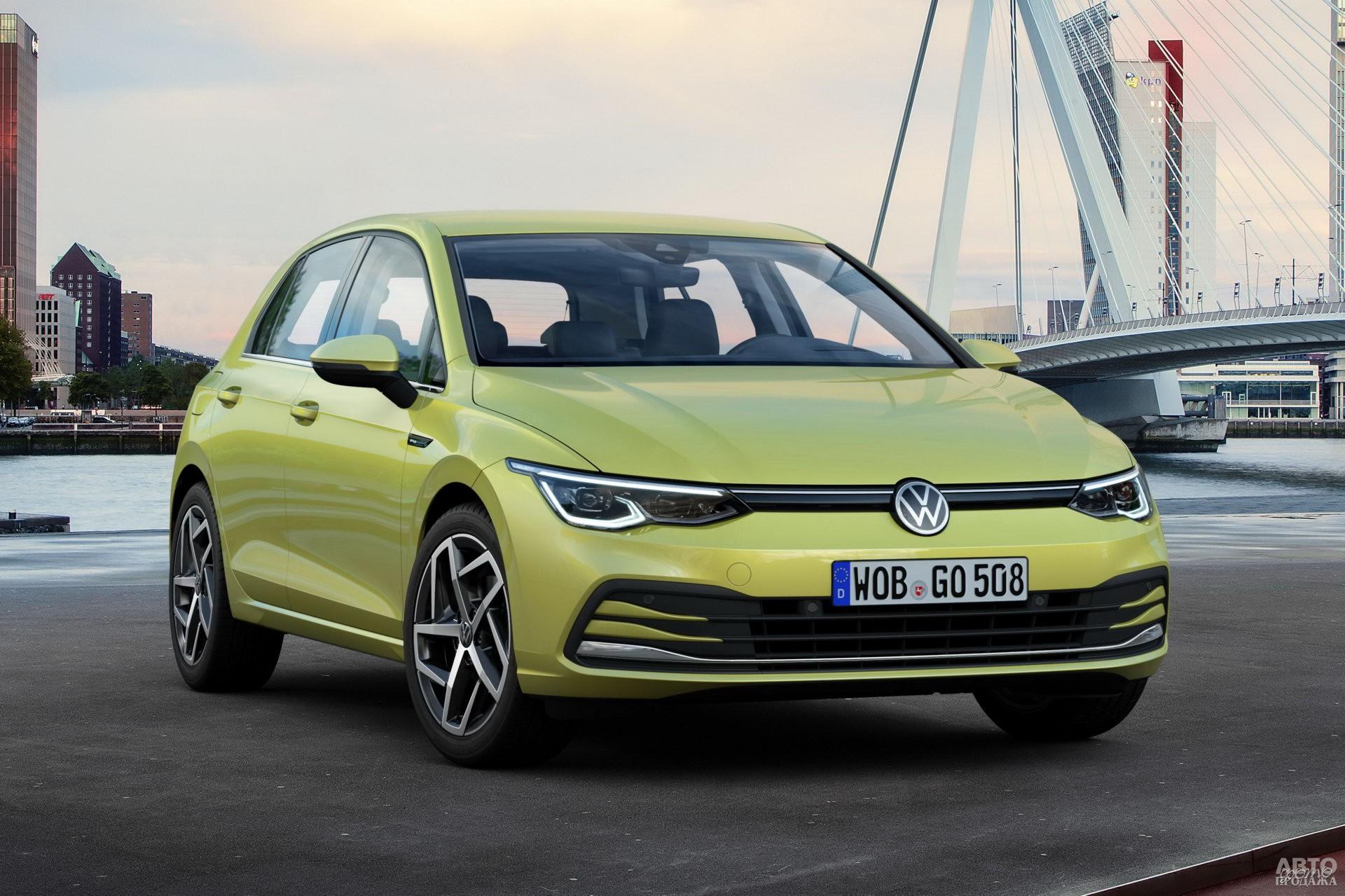 Новый Volkswagen Golf VIII 2020 года