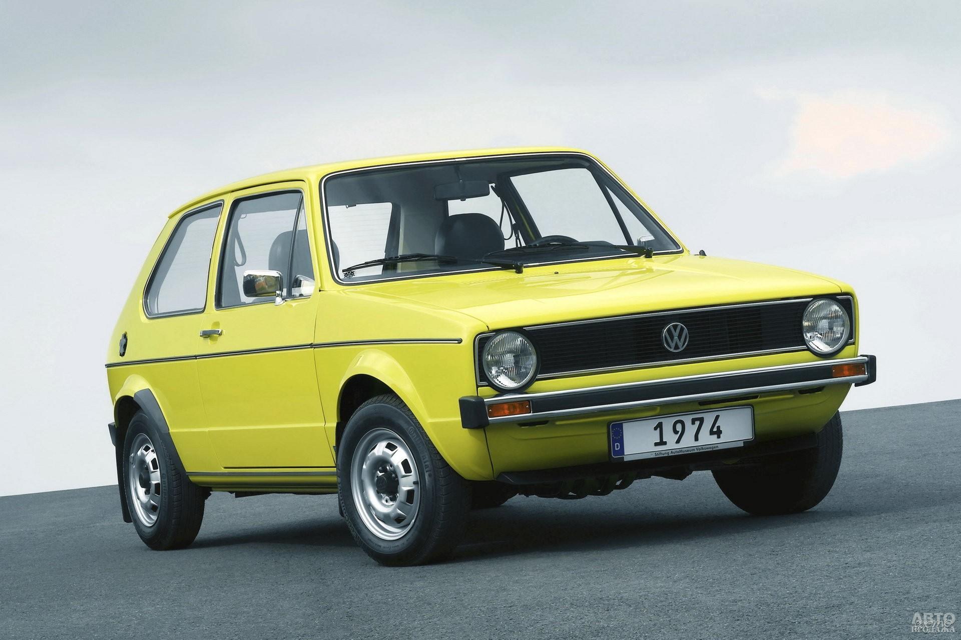 Первый Volkswagen_Golf 1974 года – преемник культового Beetle