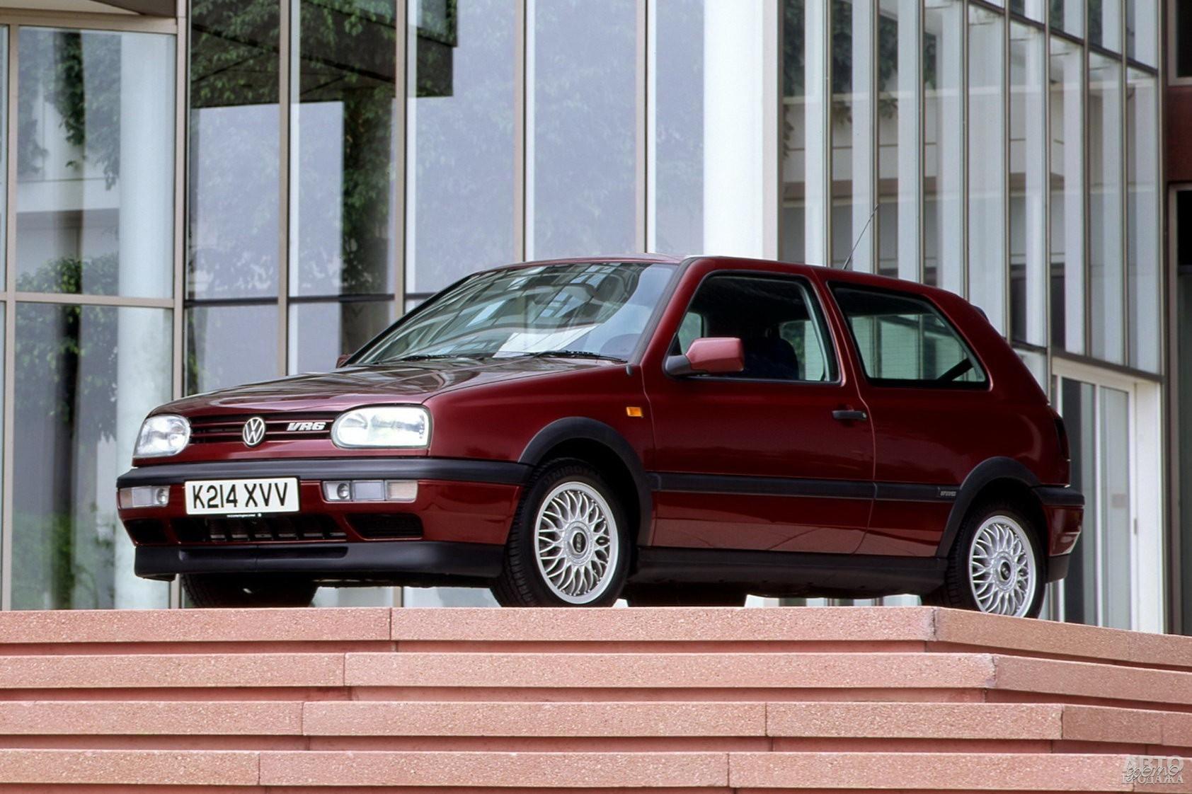 Volkswagen Golf VR6, 1992 год