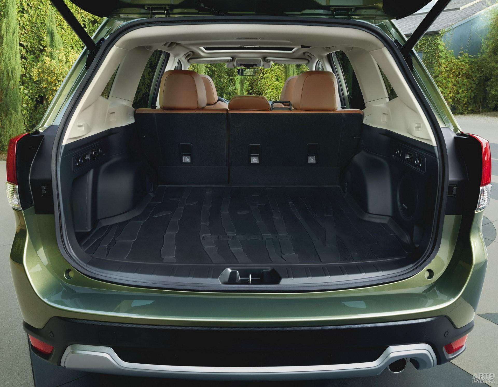 У Subaru в распоряжении – 505 л