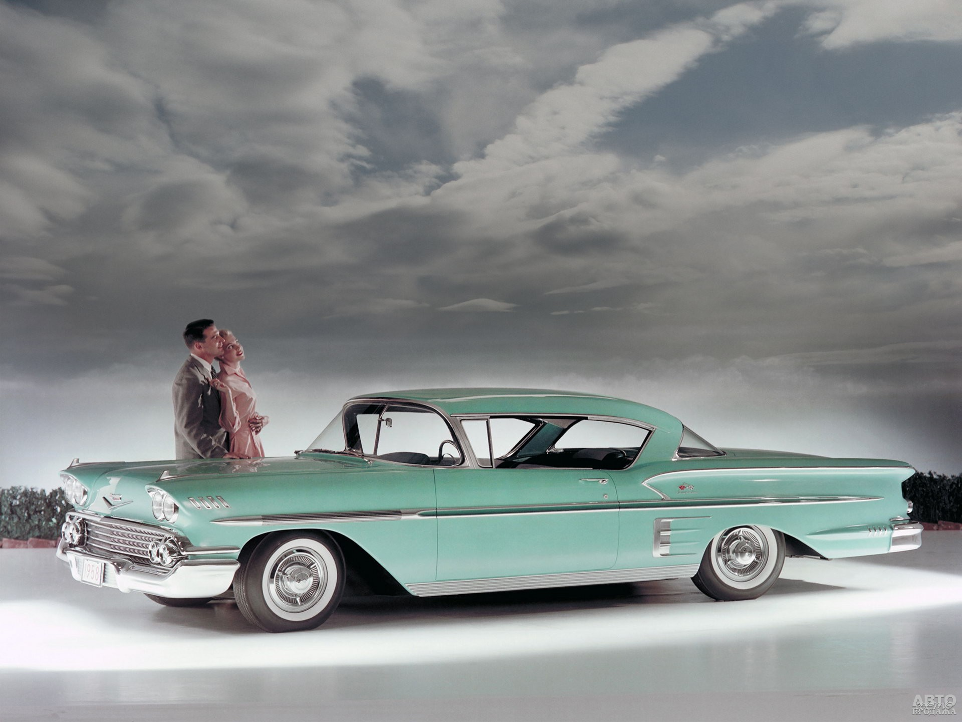 Первый Chevrolet Bel Air Impala 1958 года