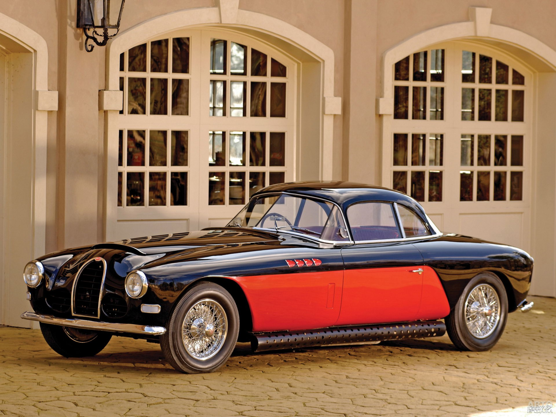 Bugatti Туре 101 1951 года построен на базе Туре 57