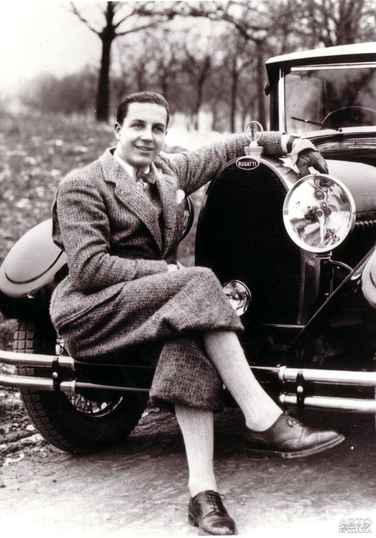 Жан Бугатти – создатель Bugatti Туре 57