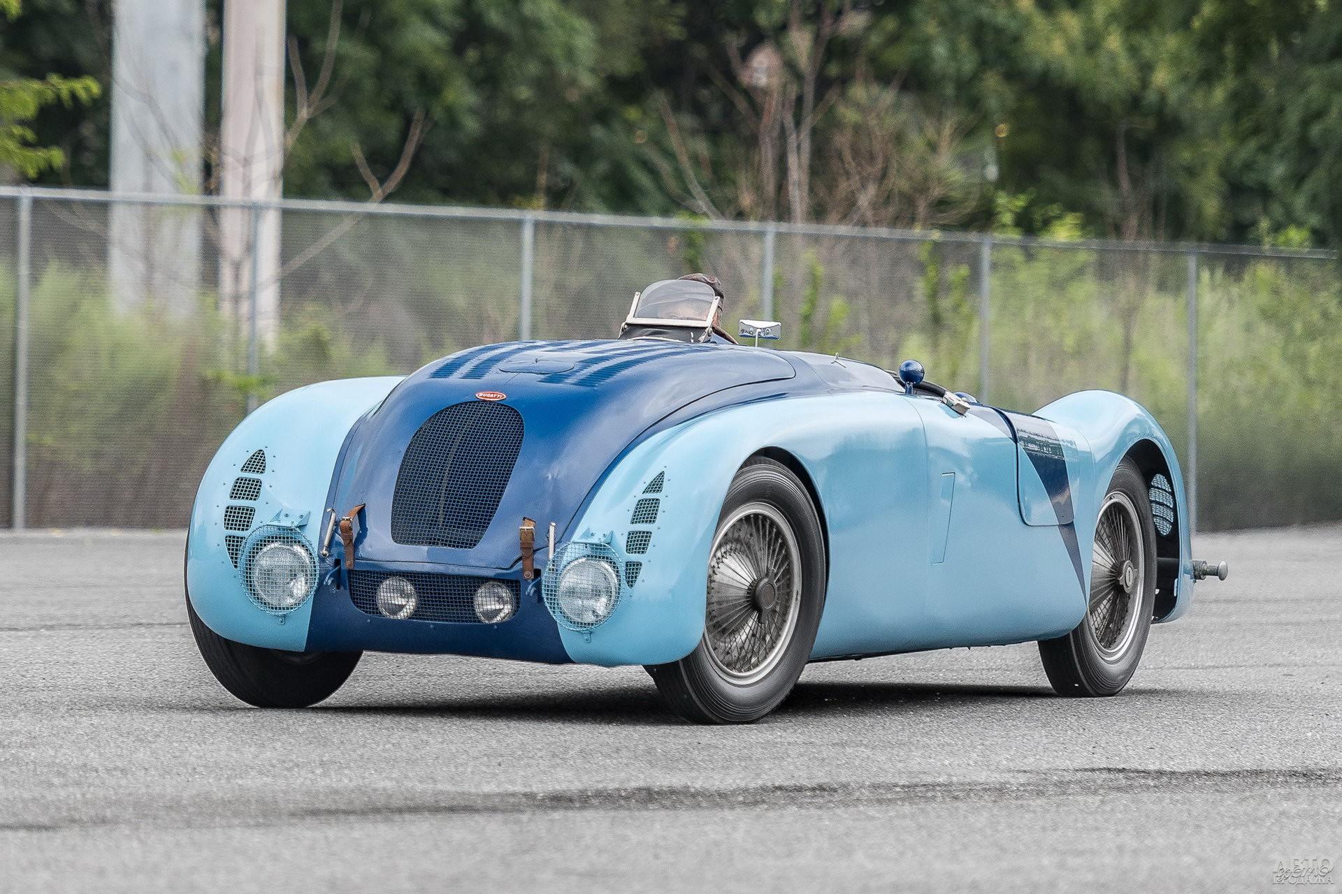 Bugatti Type 57G Tank 1936 года дважды триумфовал в Ле-Мане