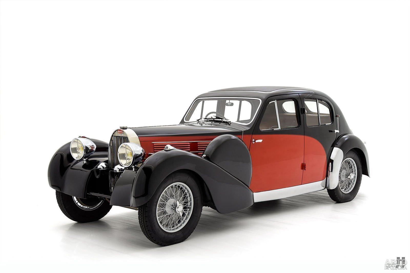 Седан Bugatti Type 57С Galibier, 1936 год