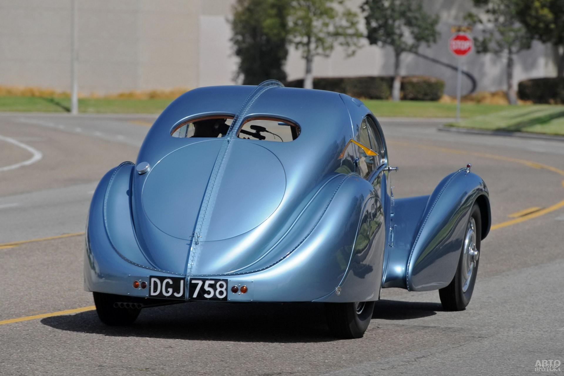 Один из Bugatti Type 57SC Atlantic продали за 30 млн. долларов