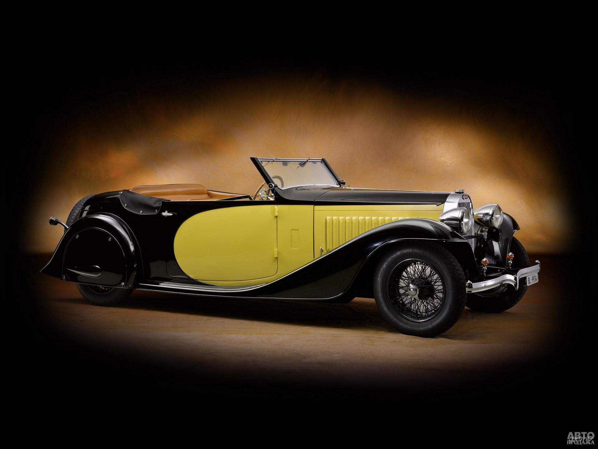 Кабриолет Bugatti Type 57 Stelvio 1935 года