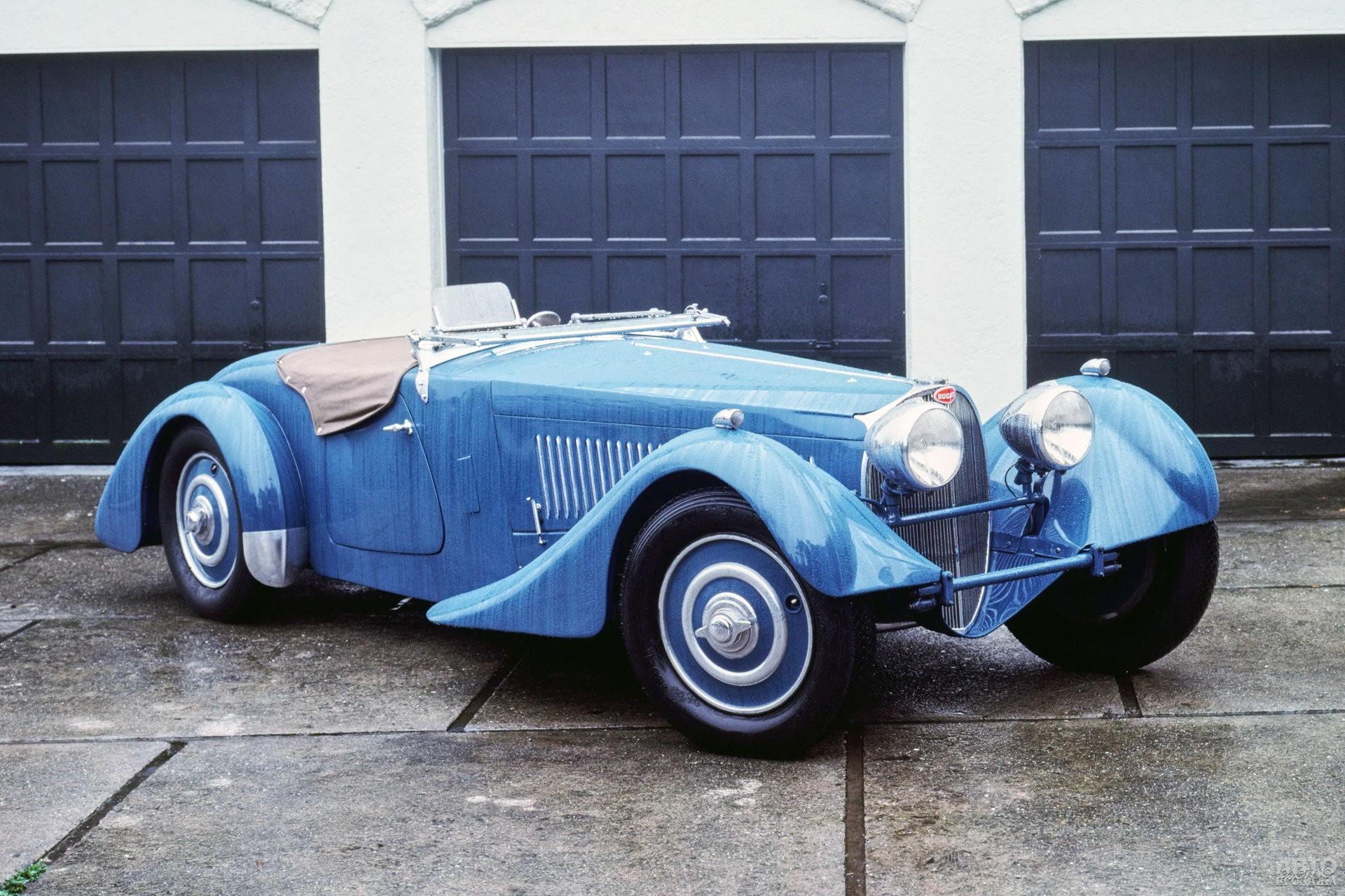 Bugatti Type 57S Corsica 1937 года