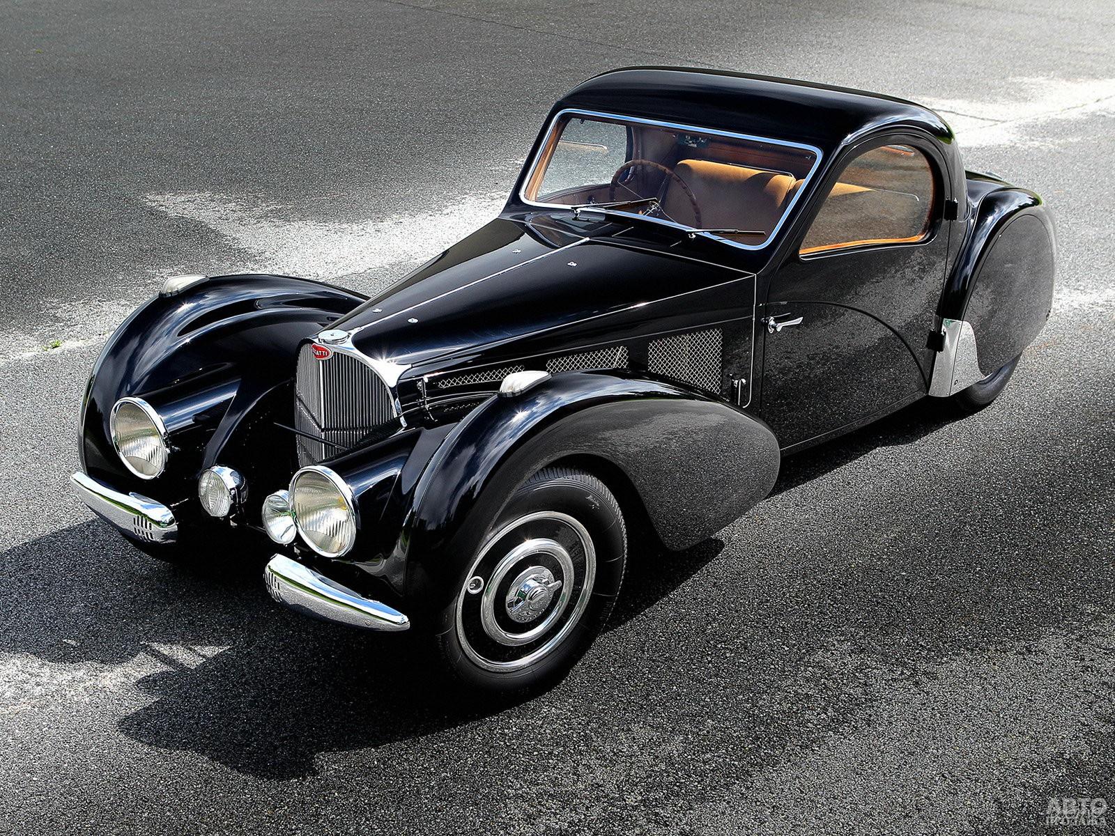 Bugatti Type 57S Atalante 1937 года