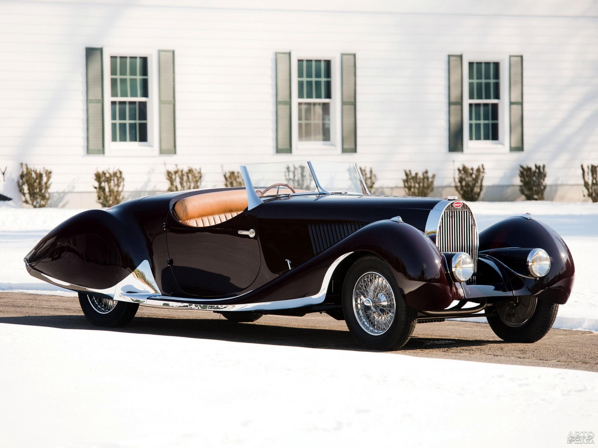 Bugatti Type 57C Roadster с кузовом от Figoni & Falaschi, 1937 год