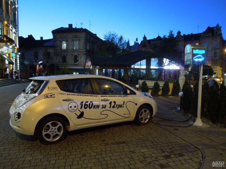 Украинцы стали активнее покупать электромобили