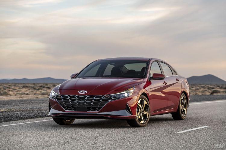 Hyundai Elantra: седьмое поколение