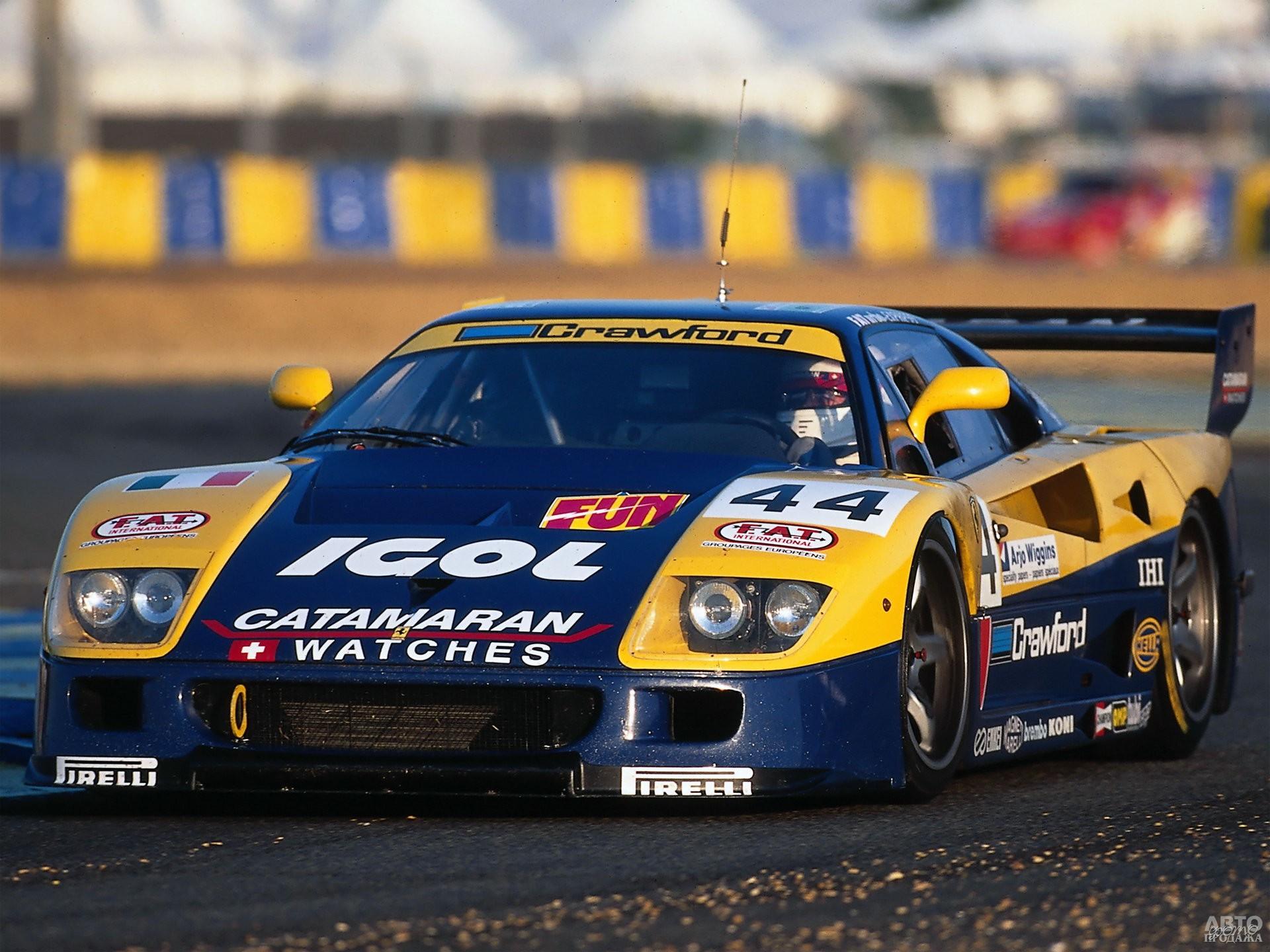 Гоночный Ferrari_F40 GTE