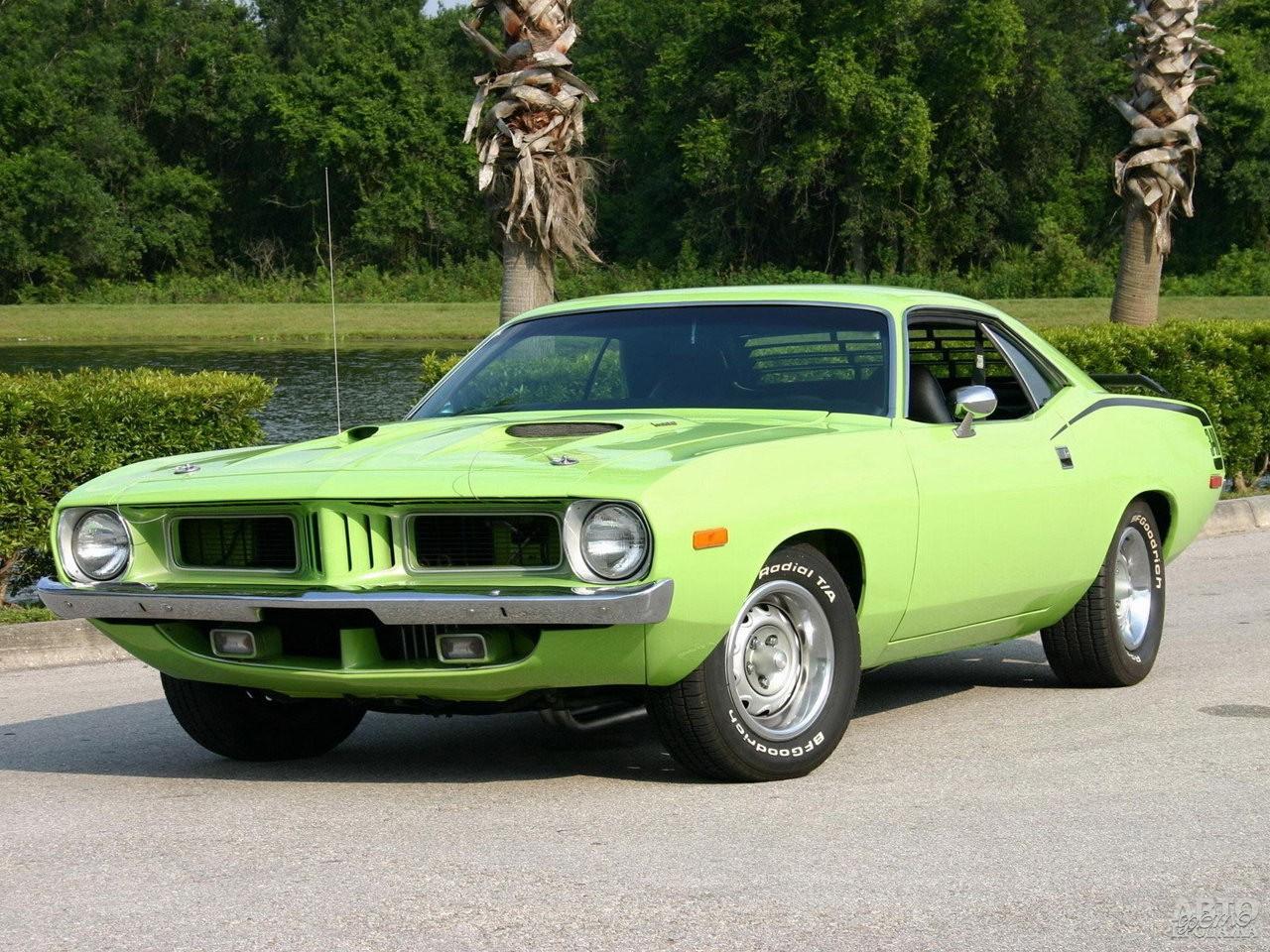 Plymouth Barracuda 1972 года