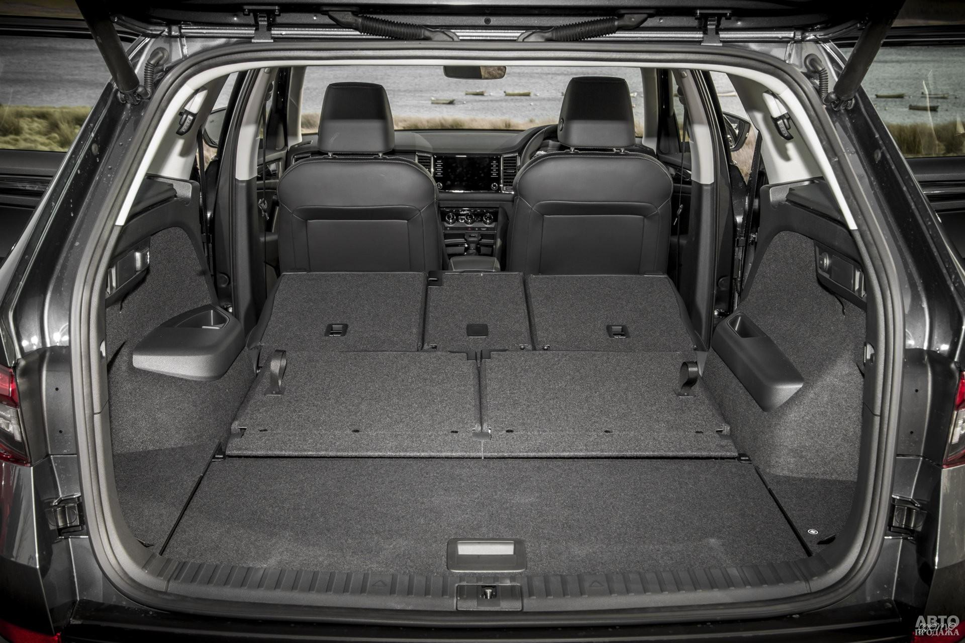 Багажник Skoda самый вместительный – 720 л
