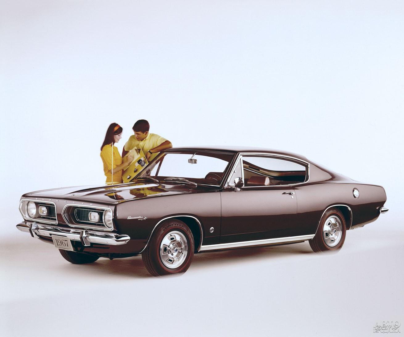Plymouth_Barracuda второго поколения, 1967 год