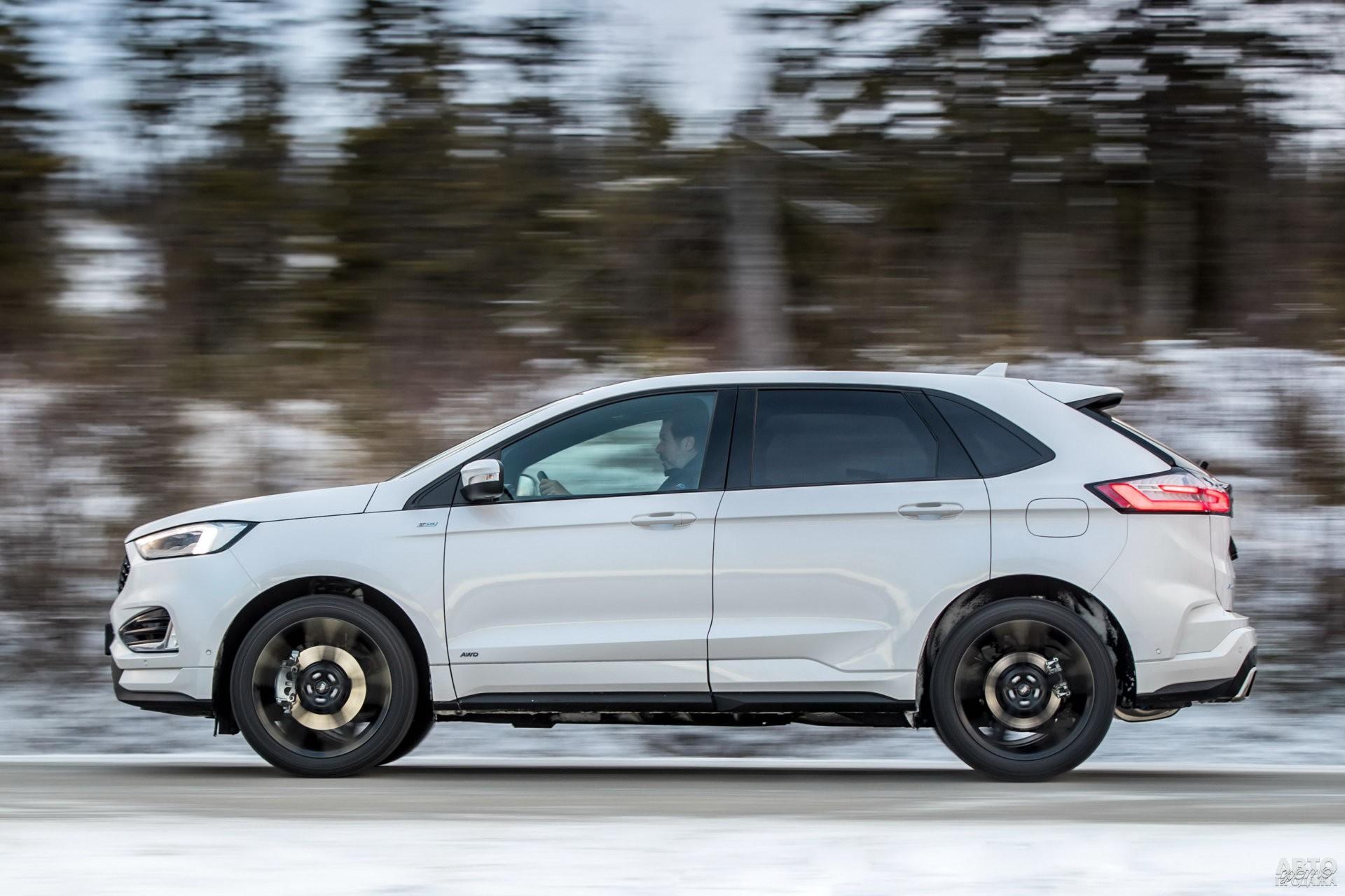 Ford ощутимо тяжелее соперников – 2116 кг