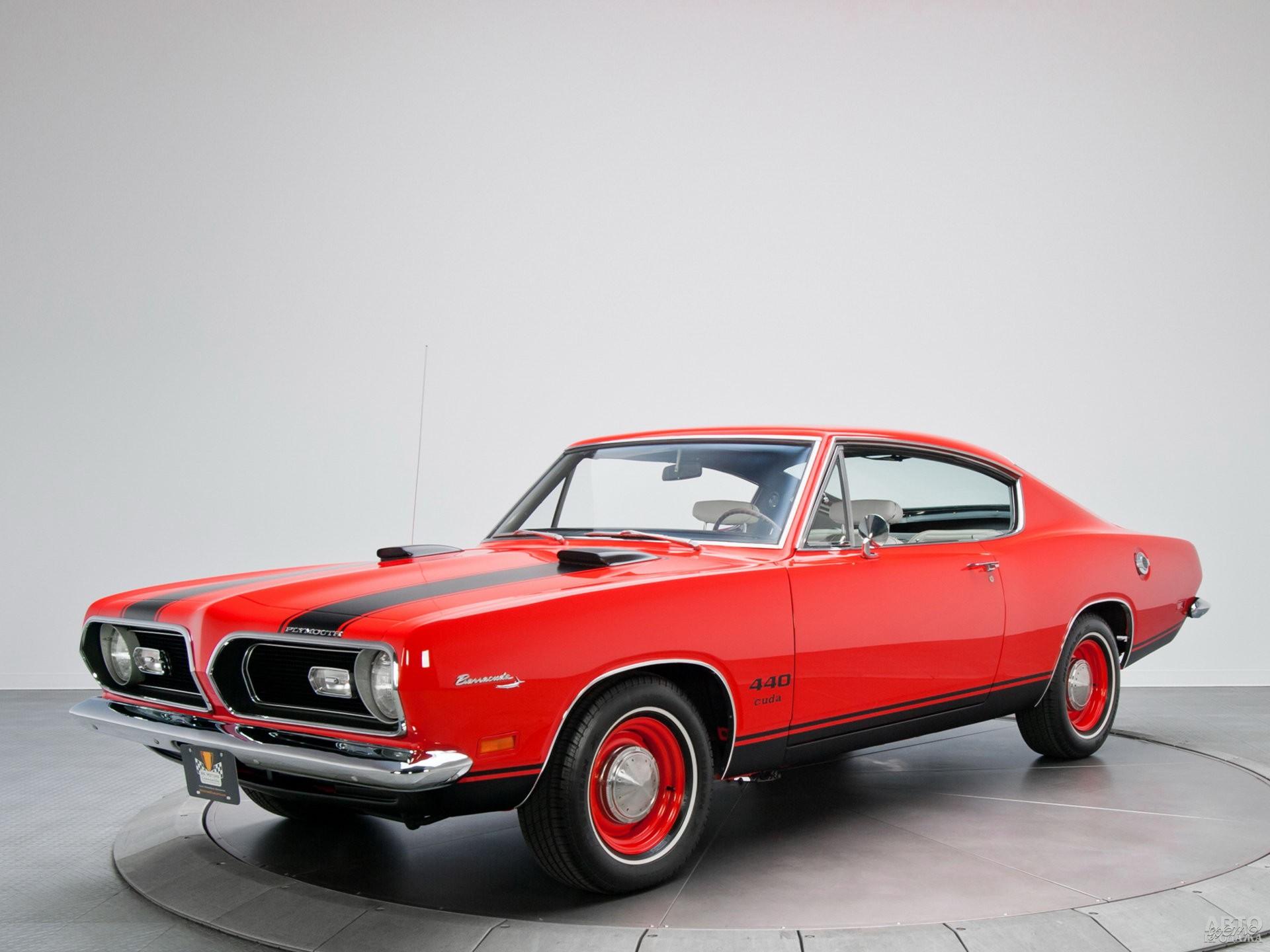 В 1969 году Plymouth_Barracuda получил 7,2-литровый V8