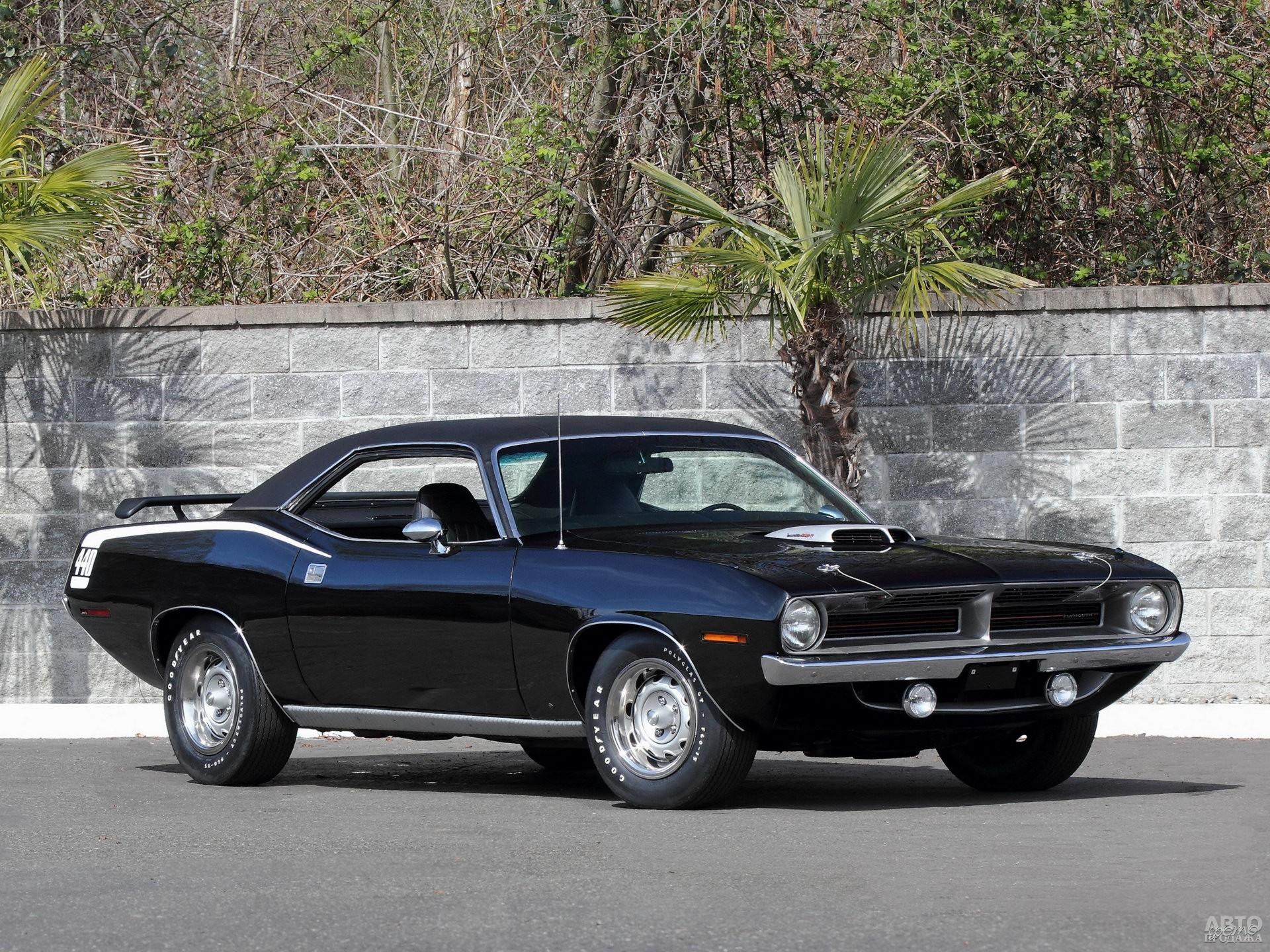 Plymouth_Barracuda 1970 года
