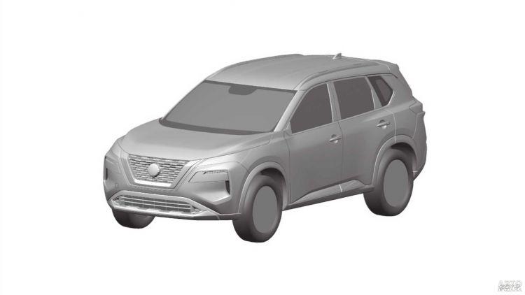 Первые изображения нового Nissan X-Trail