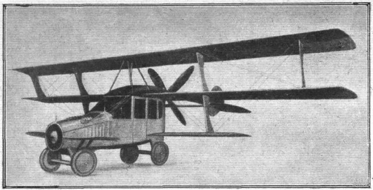 Curtiss Autoplane 1917 года