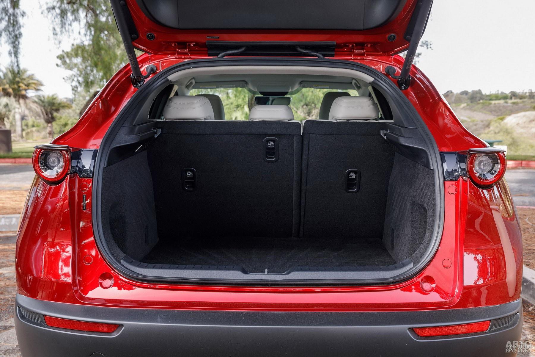 Багажник Mazda самый вместительный – 430 л