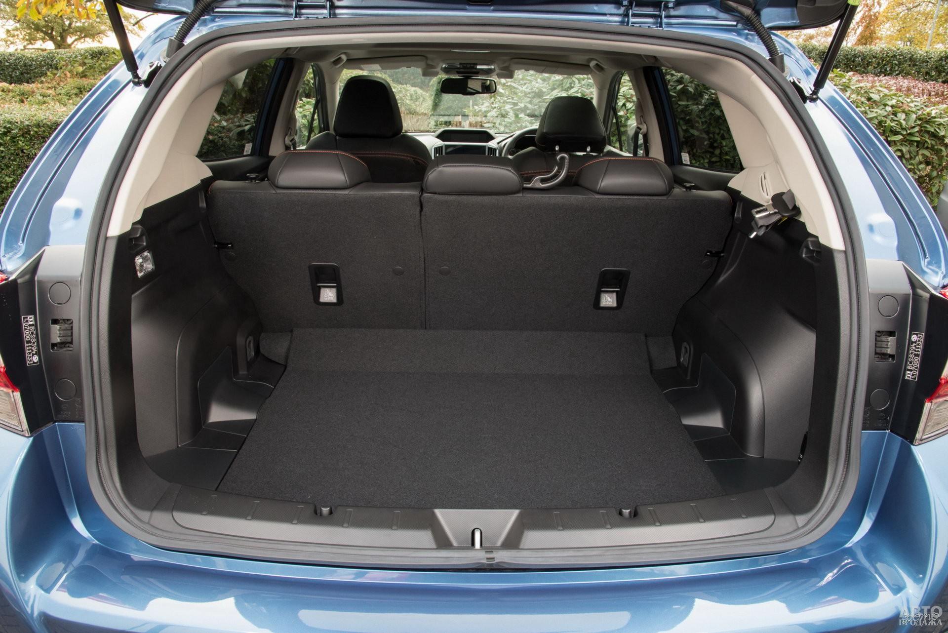 У Subaru в распоряжении – 385 л