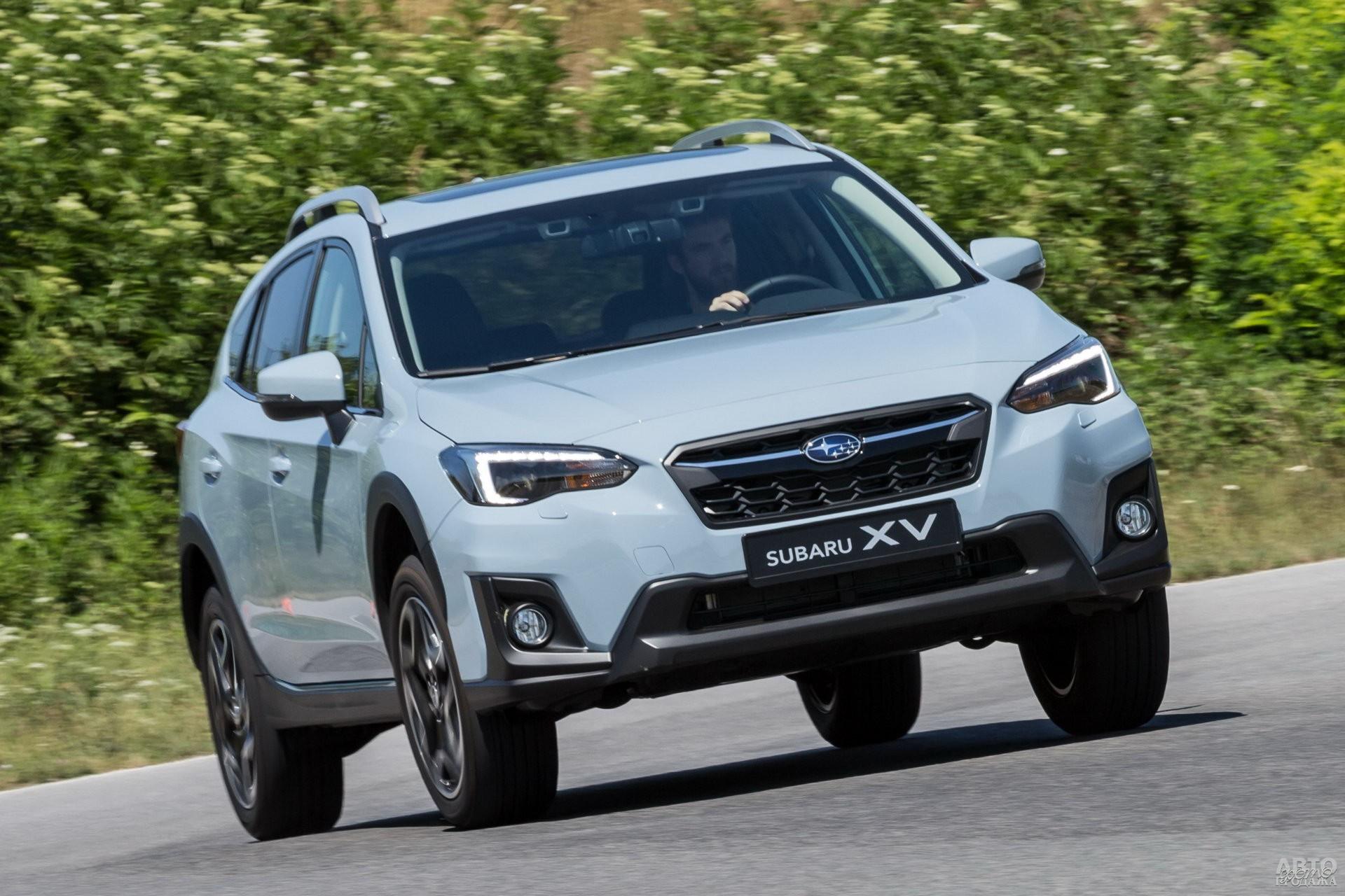 Оптика Subaru_XV полностью светодиодная