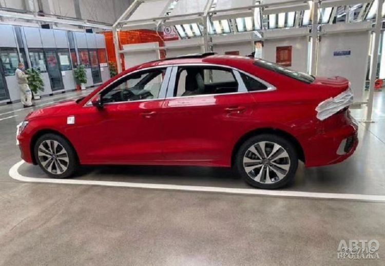 Первые фото седана Audi A3