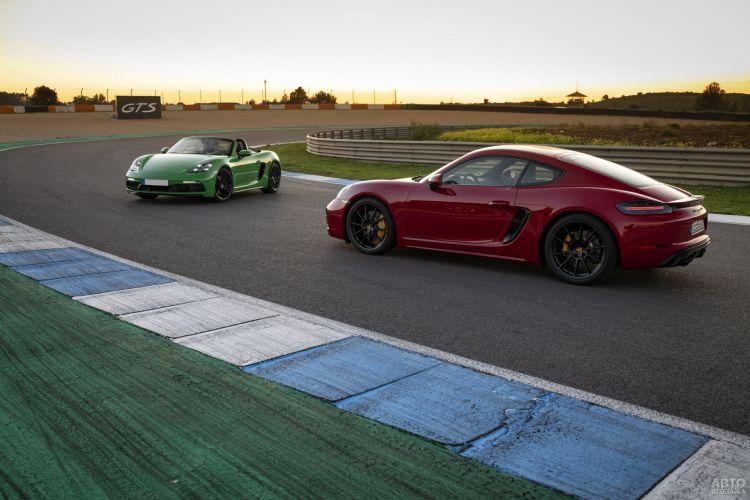 Porsche 718 Cayman GTS 4.0: спорткупе старой школы