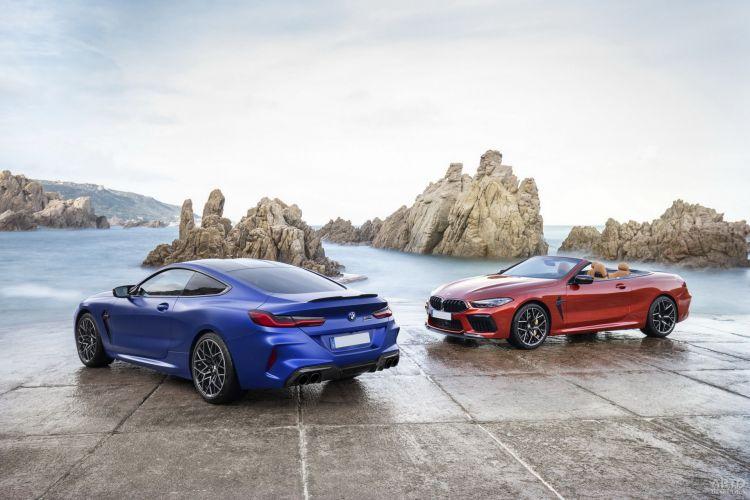 BMW M8: прибавка в мощности