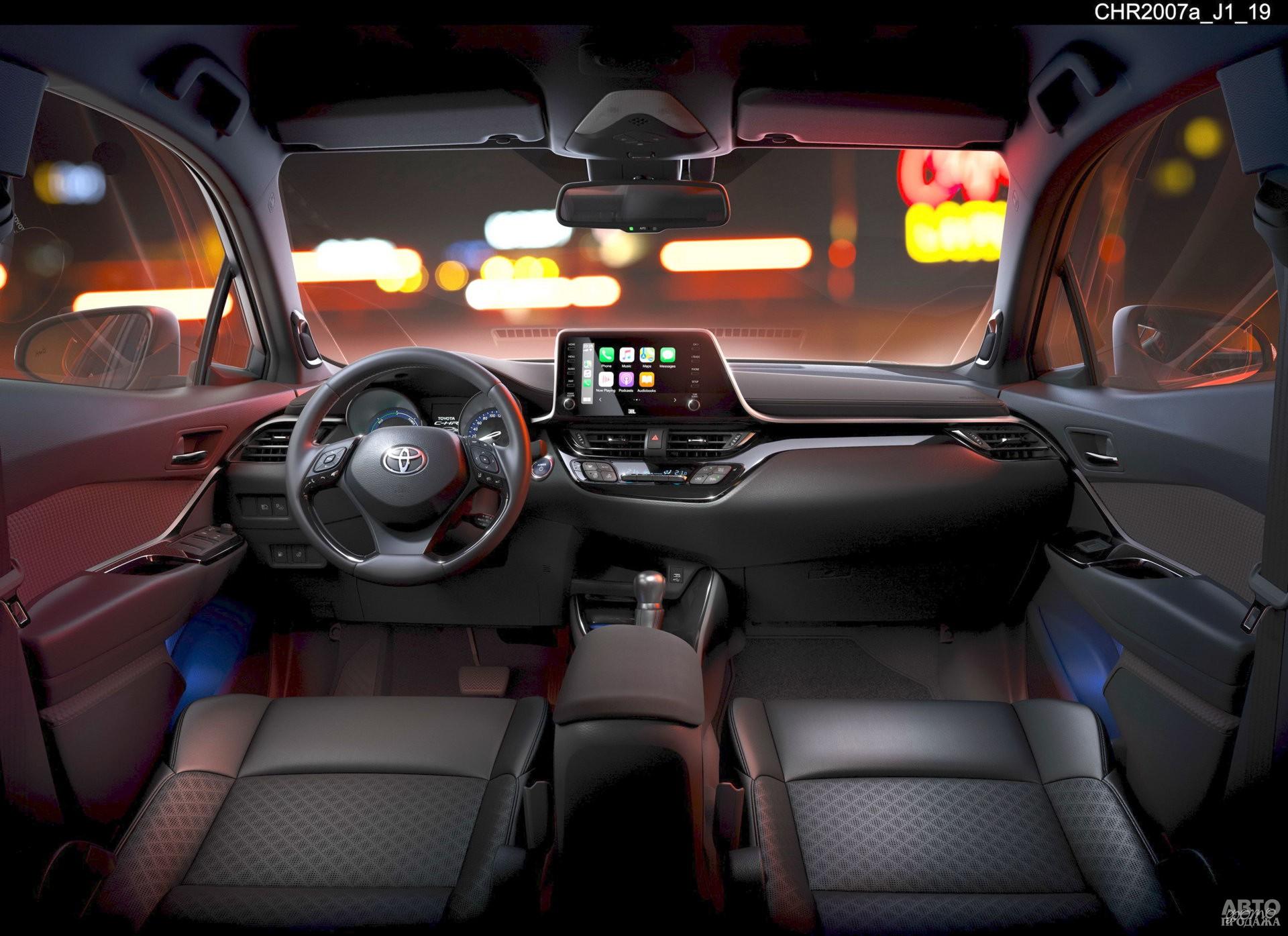 Центральная панель Toyota – ассиметричная